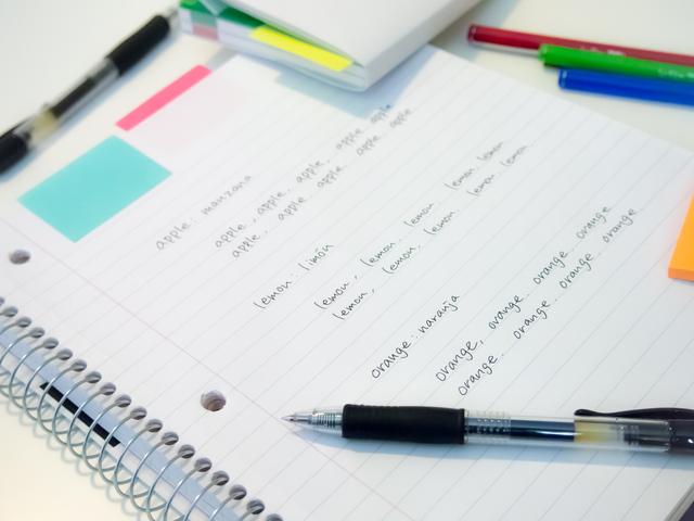 知らなかった単語や文法表現を集めた英語のまとめノートはどう作る?