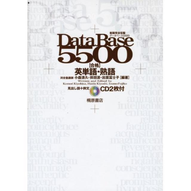 『東大英語の頻出単語を基本に忠実に、確実におさえる』東京大学文科三類合格者の「DATEBASE5500」の使い方